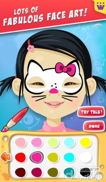 幼儿画脸的步骤图片