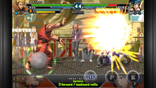 拳皇2012游戏截图