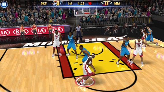 NBA2K14游戏截图
