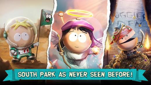 南方公园:手机毁灭者游戏截图
