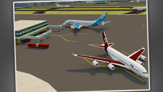 喷气飞机停机游戏截图