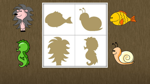 动物形状识别