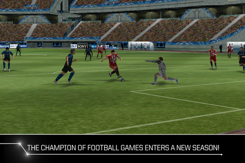实况足球2011游戏截图