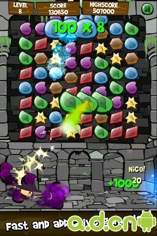 魔法宝石游戏截图