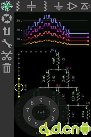 电子电路模拟器游戏截图