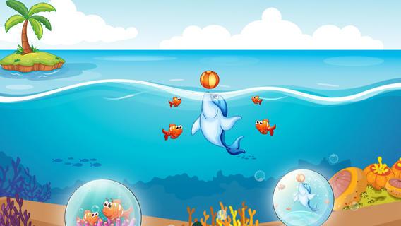 儿童水下动物拼图