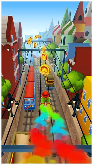 轨道跑酷游戏截图