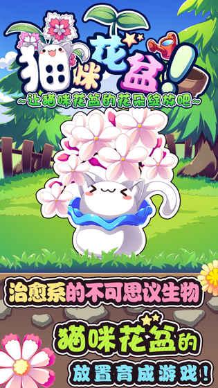 猫咪花盆游戏截图