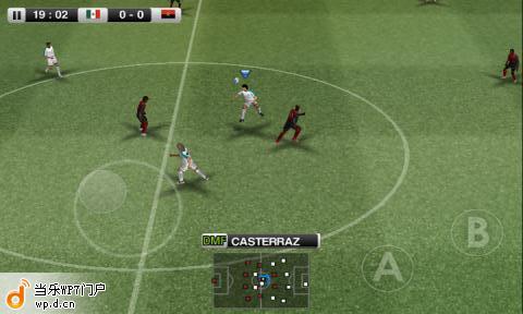 实况足球2012游戏截图