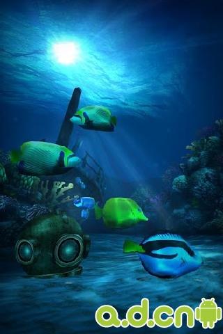 高清海底动态壁纸_高清海底动态壁纸下载_攻略_评测
