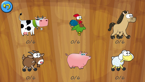 农场动物拼图