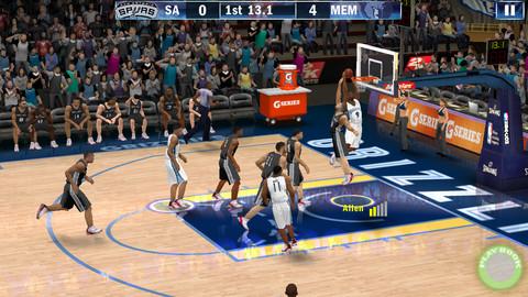 NBA2K13游戏截图