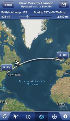 实时航班状态跟踪器