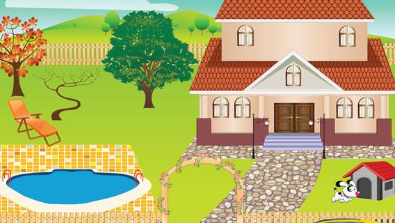 梦想中的房子装饰游戏游戏截图