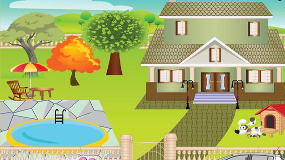 梦想中的房子装饰游戏