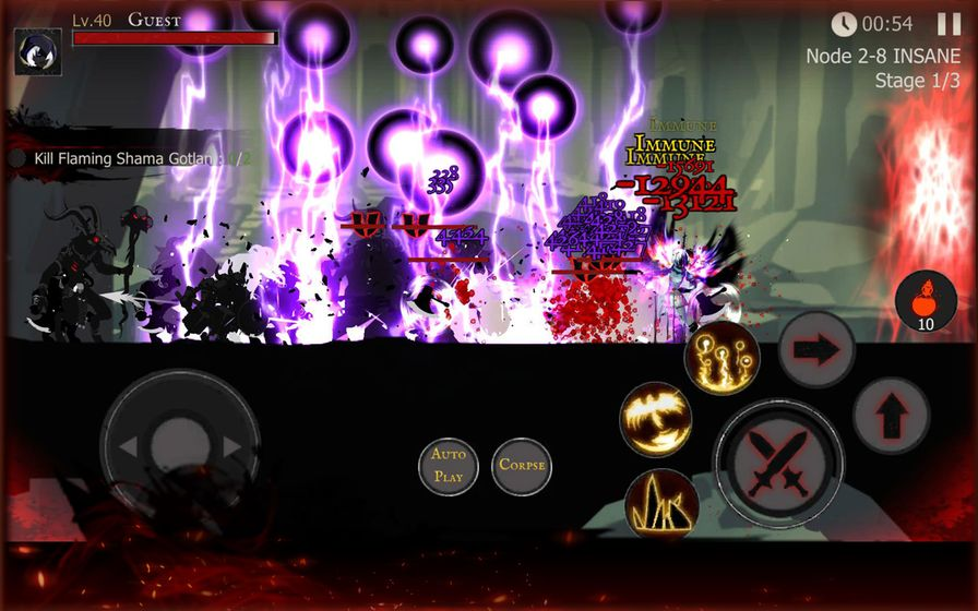 死亡之影:黑暗骑士游戏截图