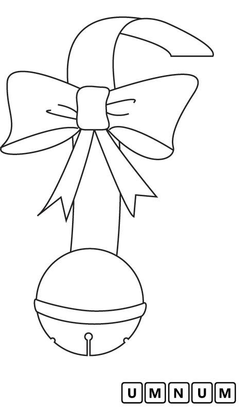 圣诞节小铃铛吊坠