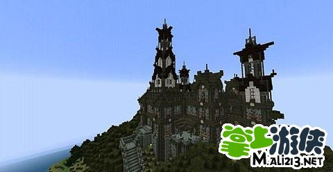我的世界城堡地图存档下载
