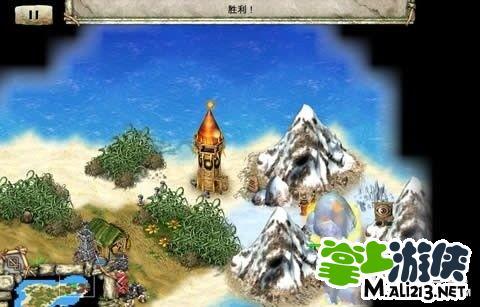 说明:在第九章-冻谷之岛学会建火塔后回来,在这个位置建一个火塔