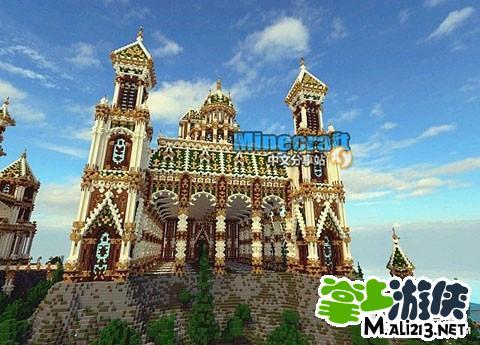 我的世界宫殿存档下载 巴尔博城堡宫殿地图包