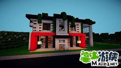 MC我的世界现代建筑系列 独栋别墅建筑存档