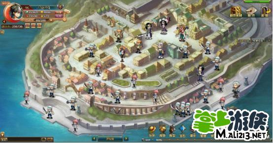 《热血海贼王》罗格镇副本介绍 壮观的副本地图快来欣赏