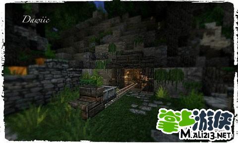 我的世界地图存档下载 mc绿色森林地图分享