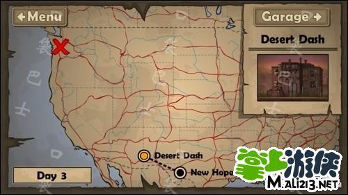 游戏大地图界面