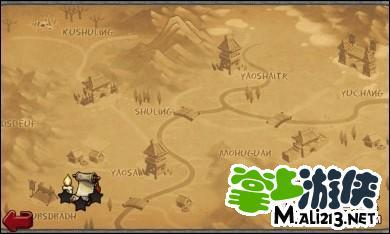 帝国塔防2攻略:地图