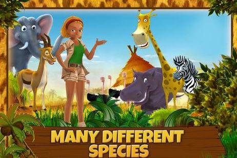 经营农场并饲养热带草原的动物