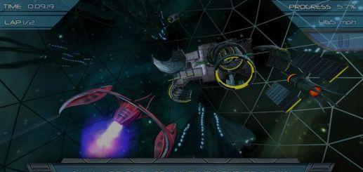 《太空竞速》今日上架 驾驶飞船穿越隧道