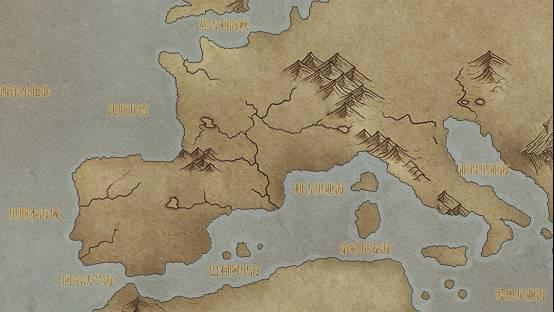 大航海之路世界地图分布包括哪些港口和海岸