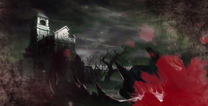 《妖刀少女异闻录》哥特风景