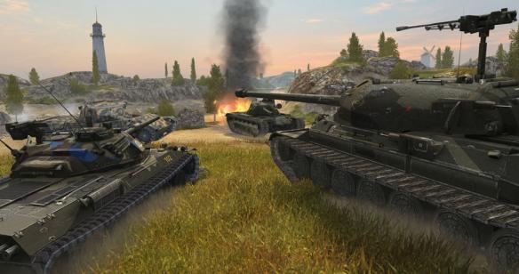 飓风测试打响《坦克世界闪击战》国服强势来袭