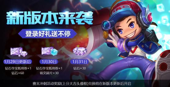 王者荣耀1月29日更新介绍 全新资料片开启[多图]图片2