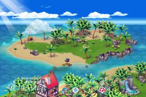ios11高清海滩壁纸