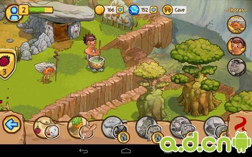 游戏的基本设定就是抓动物,建饲养园,收获原材料,建造村庄,再去抓动物