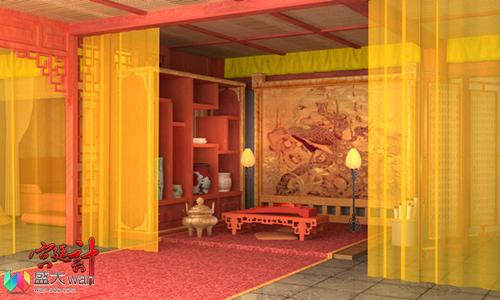 橙光手绘古代宫殿