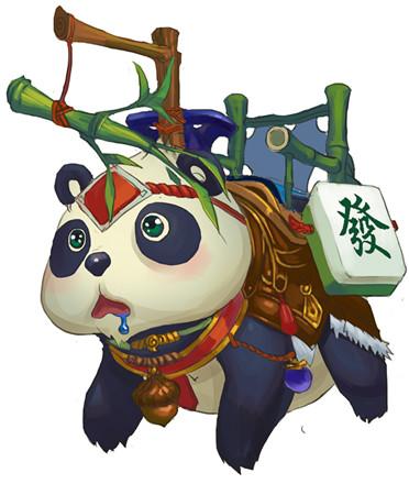 从大山偷跑出来的熊猫,外形呆呆傻傻的,憨憨的很可爱.