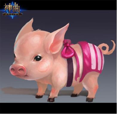真猪猪头像可爱