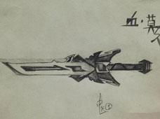 《生死狙击》玩家画作欣赏之武器
