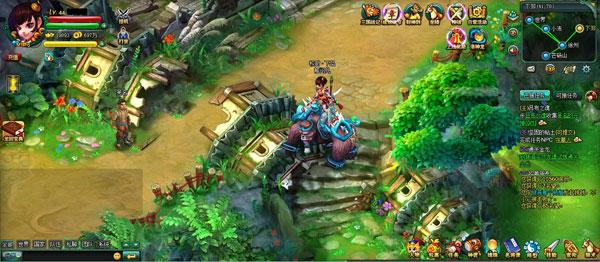 龙回三国游戏游戏图片欣赏