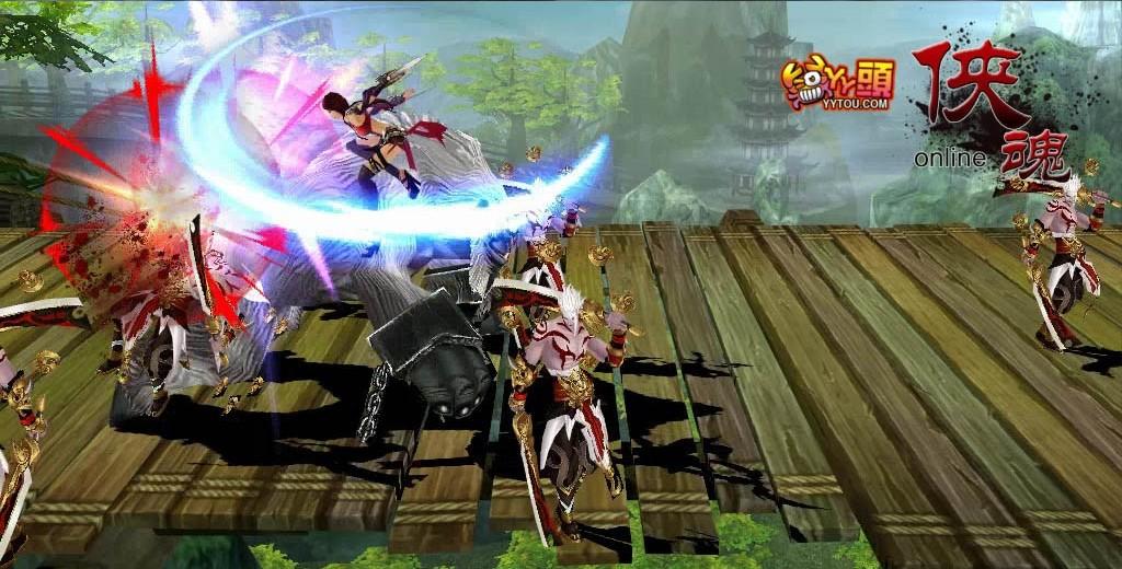 3d横版动作网页游戏_这是一款3d横版格斗武侠风mmorpg网页游戏,丫丫头娱乐耗时两年创作的