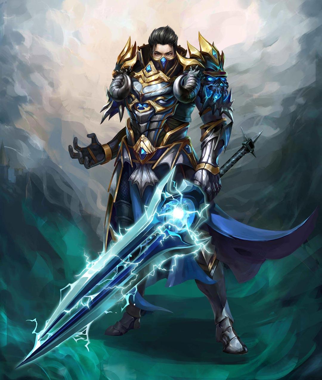 《冰火之剑》游戏职业原画欣赏