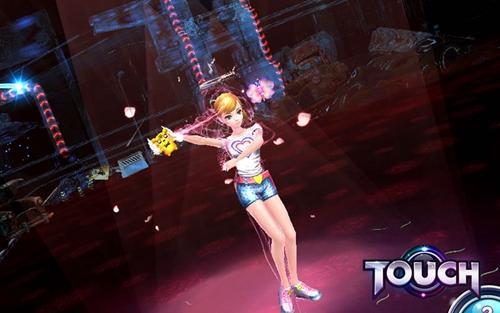 超模养成!《touch》平民明星竞争封面女郎