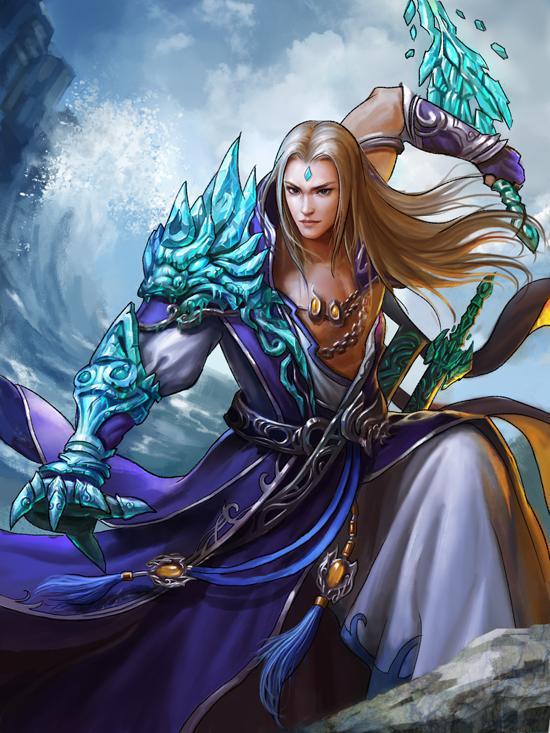 《古剑奇谭web》水神共工太子长琴攻略图片