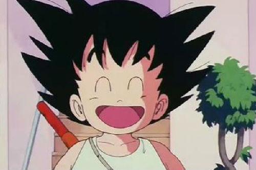 熊大等一众卡通人物的《七龙珠》孙悟空,小时候可爱单纯,长大了霸气逼