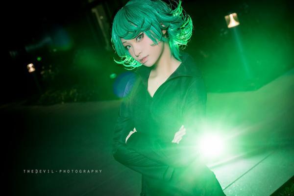 一拳超人 地狱龙卷 CN:桜木梨-大师级COS美图 cosplay也要优雅不要