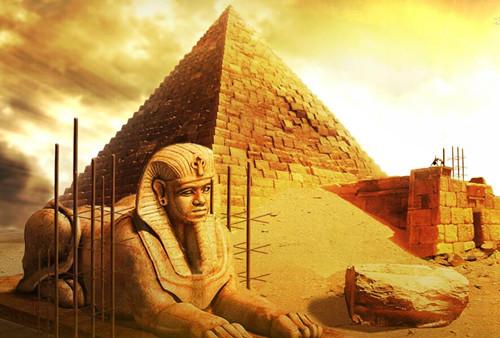 古埃及著名的金字塔以及