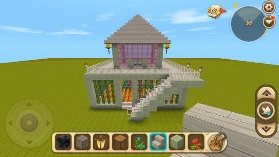 《迷你世界》精致小別墅建造教程《迷你世界》怎么搭建好看的房子